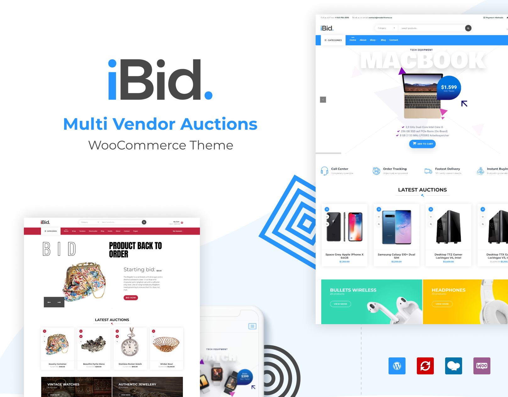 iBid WordPress Theme